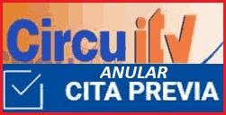 Acceder al sistema para anular cita previa ITV Circuitv